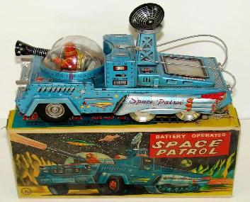 vintage space toys appraisals buddy l trains tin toy robots vintage space truck appraisals,rare japan tin toy robots for sale