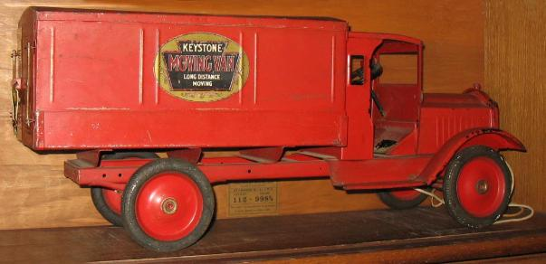 buddy l toy trains antique keystone toy truck with original paint Antique Toy Appraisal   Large Buddy L antiqeu truck with working steering, antique toys and trucks wanted, your pressed steel toys are important to us,,www.buddyltrains.com,buddy l train set,buddy l railroad tracks,buddy l trains,buddy l toy trains,buddy l car,buddy l truck,antique toys,keystone toy trains,antique toy trains,pressed steel toys,buddy l,buddy l dump truck,kingsbury roadster,antique,ebay,old