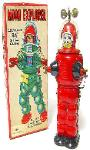 tin toys robots japanese space toys buddy l trucks vintage space trains,radicon robots for sale, masudaya space toys, space car robots