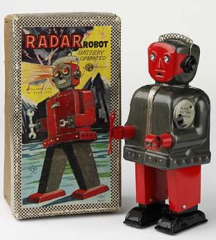 toy robots buddy l trucks tiffany lamps tin toys, alsp japan tin toy robots for sale, antique buddy l trains for sale, japan battery operated tin toy robots photos,  free antique toy appraisals